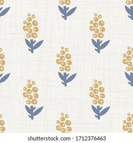 https www shutterstock com image vector seamless daisy floral pattern french blue 1712376463