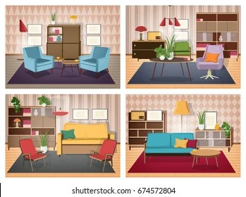 80s Living Room High Res Stock Images Shutterstock