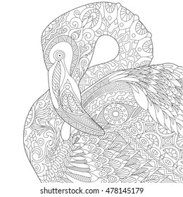 Jungle Animal Coloring Page Images Stock Photos Vectors Shutterstock