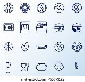 https www shutterstock com image vector symbols food grade metal indicate properties 455893192
