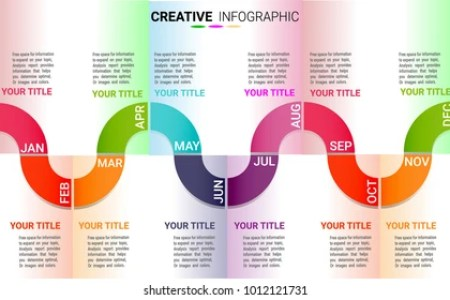 12 Month Timeline Images  Stock Photos   Vectors   Shutterstock Timeline for 12 months  1 year  Timeline infographics design vector and  Presentation business can