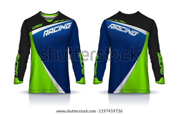 Download Tshirt Sport Design Template Long Sleeve Stock Vector ...