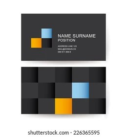 https www shutterstock com image vector vector abstract business card geometrical decoration 226365595