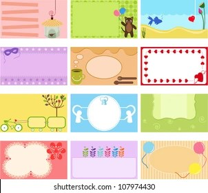 Stickers With Name Stock Vectors Images Vector Art Shutterstock