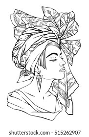 african coloring pages # 7