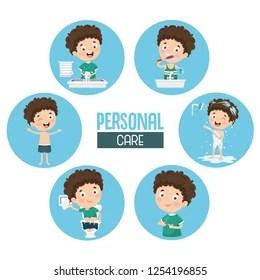 Personal Hygiene Cartoon Images Stock Photos Vectors Shutterstock