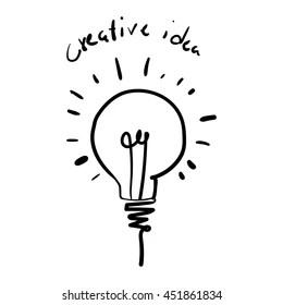 https www shutterstock com fr image vector vector light bulb icon concept idea 451861834