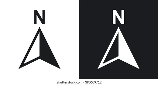 North Symbol Images, Stock Photos & Vectors | Shutterstock