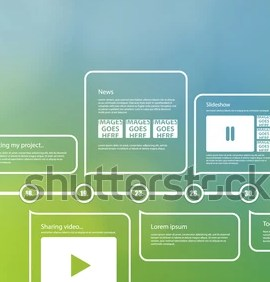 Grabs Full Pixels » Vector Timeline Template Layout Much Space Stock Vector  Royalty     Vector timeline template  Layout with much space for your content  Elements  for your website