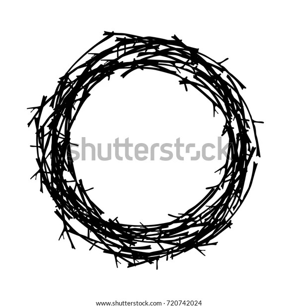 wreath template free # 60