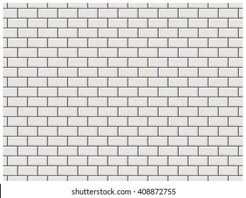 https www shutterstock com image vector white brick wall subway tile pattern 408872755