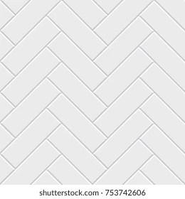 https www shutterstock com image vector white herringbone parquet seamless pattern classic 753742606