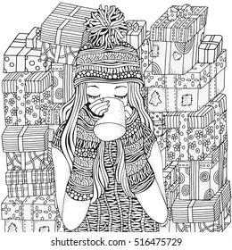 coloring pages fashion # 22
