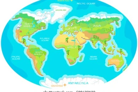 Map of the world showing continents and oceans free interior identifying the continents oceans of the world study com map evolution of continents and oceans plate boundaries gif bytes vector de mapas de continentes gumiabroncs Choice Image