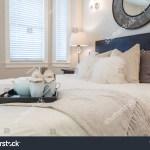 Luxury Bedroom Contemporary Design Reclaimed Wood Stock Photo Edit Now 287695499