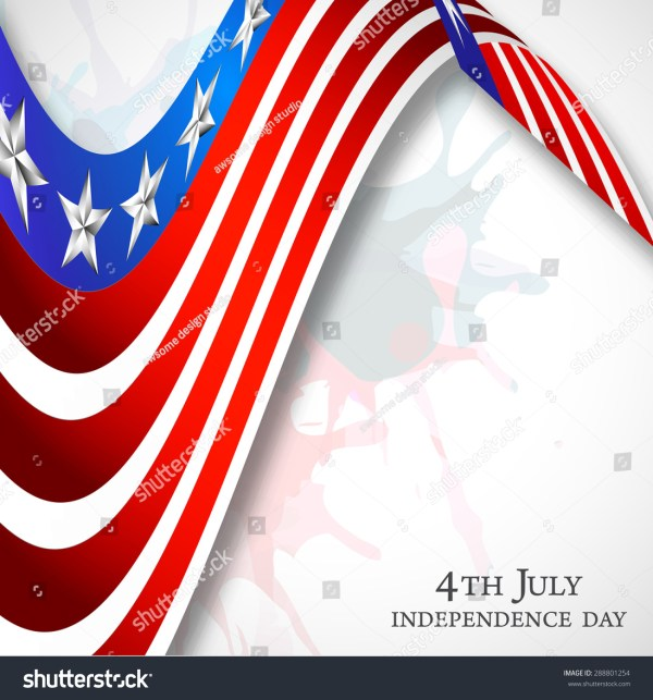 4th July American Independence Day Celebration Stock ...