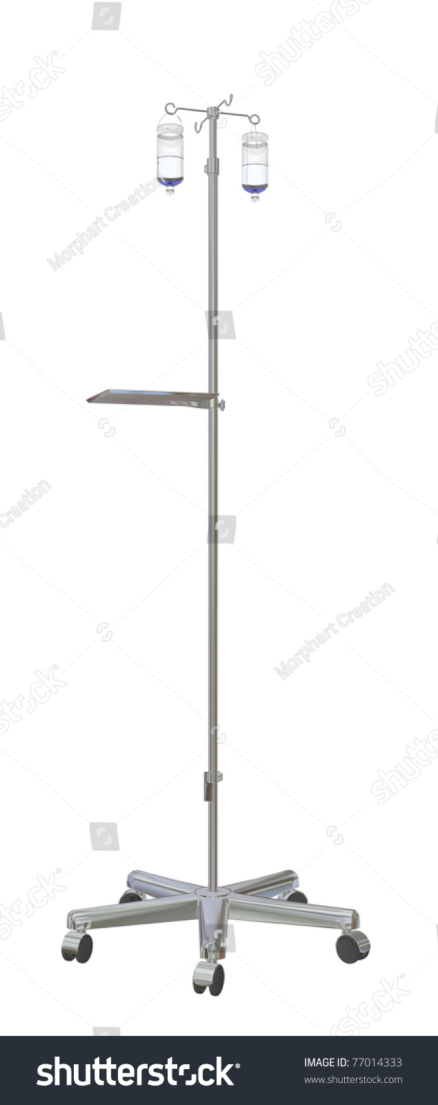 Walking Patient Iv Pole Clip Art