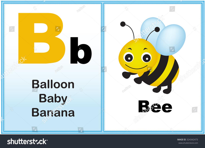 Alphabet Letter B Clipart Few Similar Stock Illustration