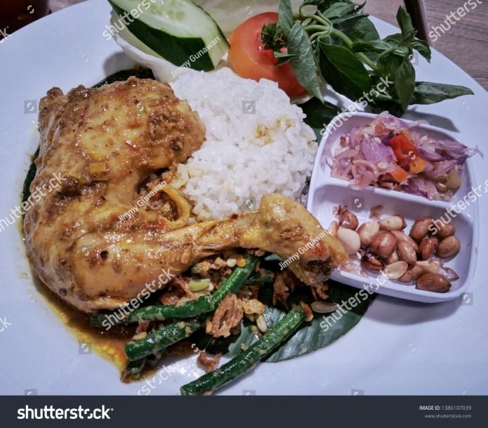Ayam Betutu Traditional Food Bali Indonesia Stock Photo Edit Now 1386107039