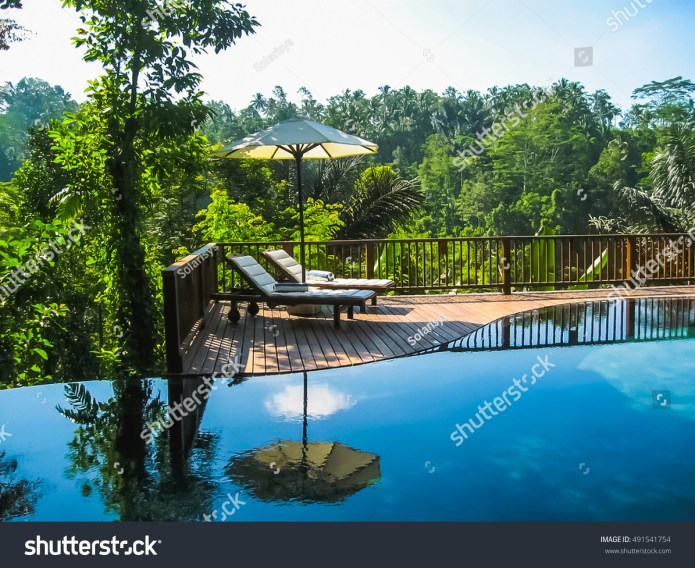 Bali Indonesia April 14 2014 View Stock Photo Edit Now 491541754