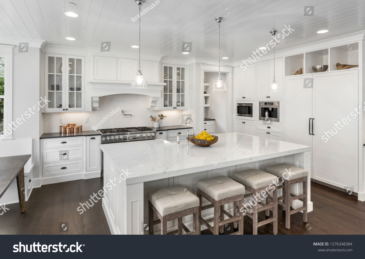 Download Beautiful White Kitchens Pics