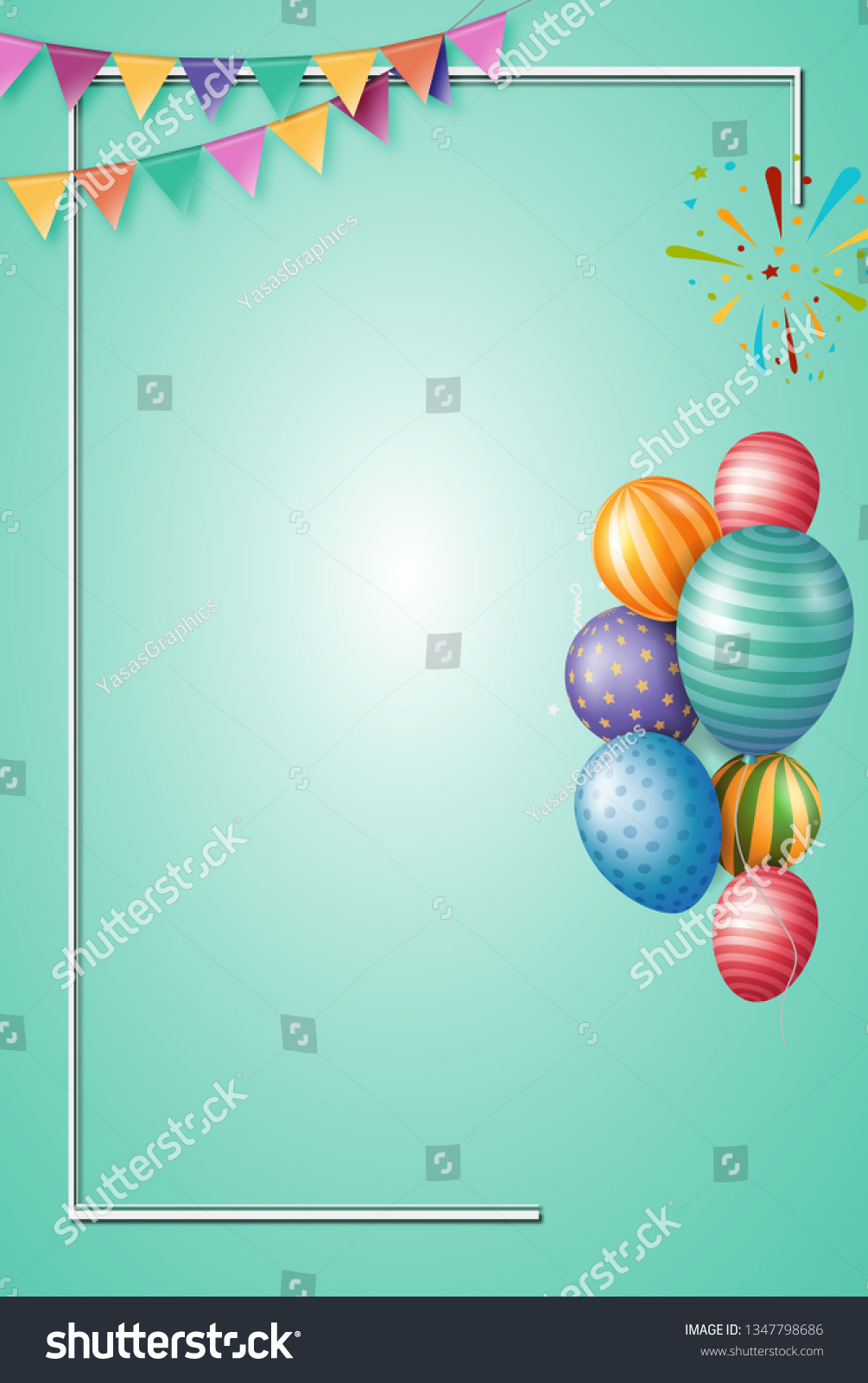 https www shutterstock com image illustration birthday invitation card background 1347798686