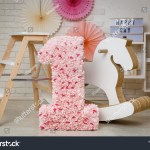 Birthday Rose Gold Fuchsia Decorations Gifts Stock Photo Edit Now 1344196025