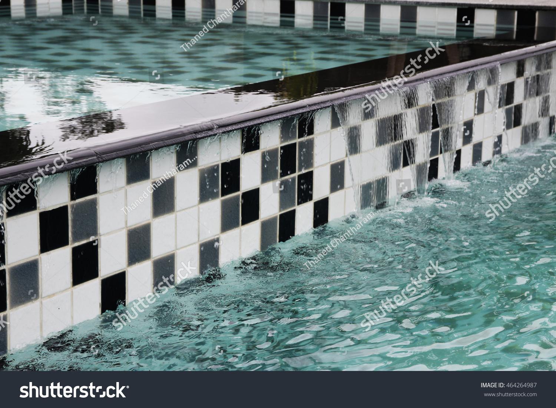 https www shutterstock com image photo black white pool tile background 464264987