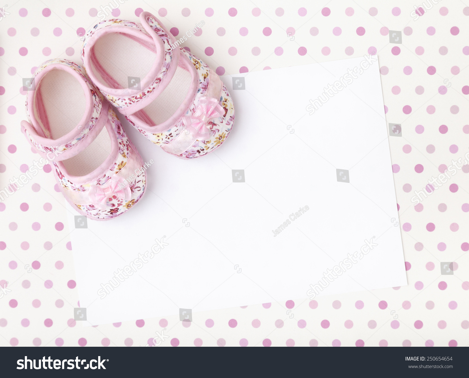 Greetings Baby Shower Card