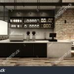Cafe Shop Restaurant Design Modern Loft Stock Illustration 598389026