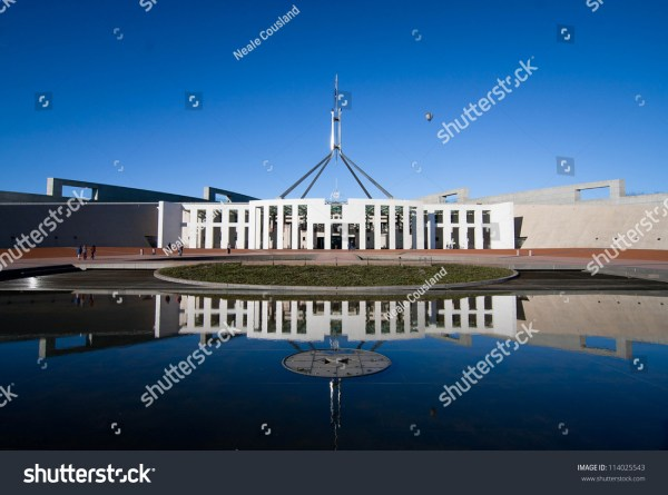 Canberra -Sep 20: Australia'S Landmark Parliament House ...