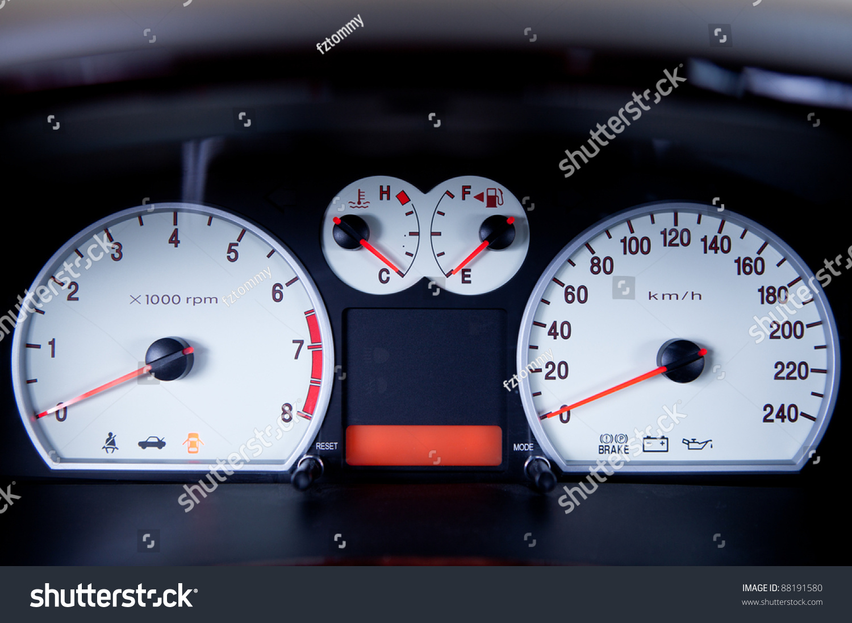 Car Instrument Panel Stock Photo Shutterstock