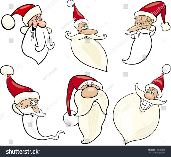 Cartoon Illustration Santa Claus Papa Noel Stock ...