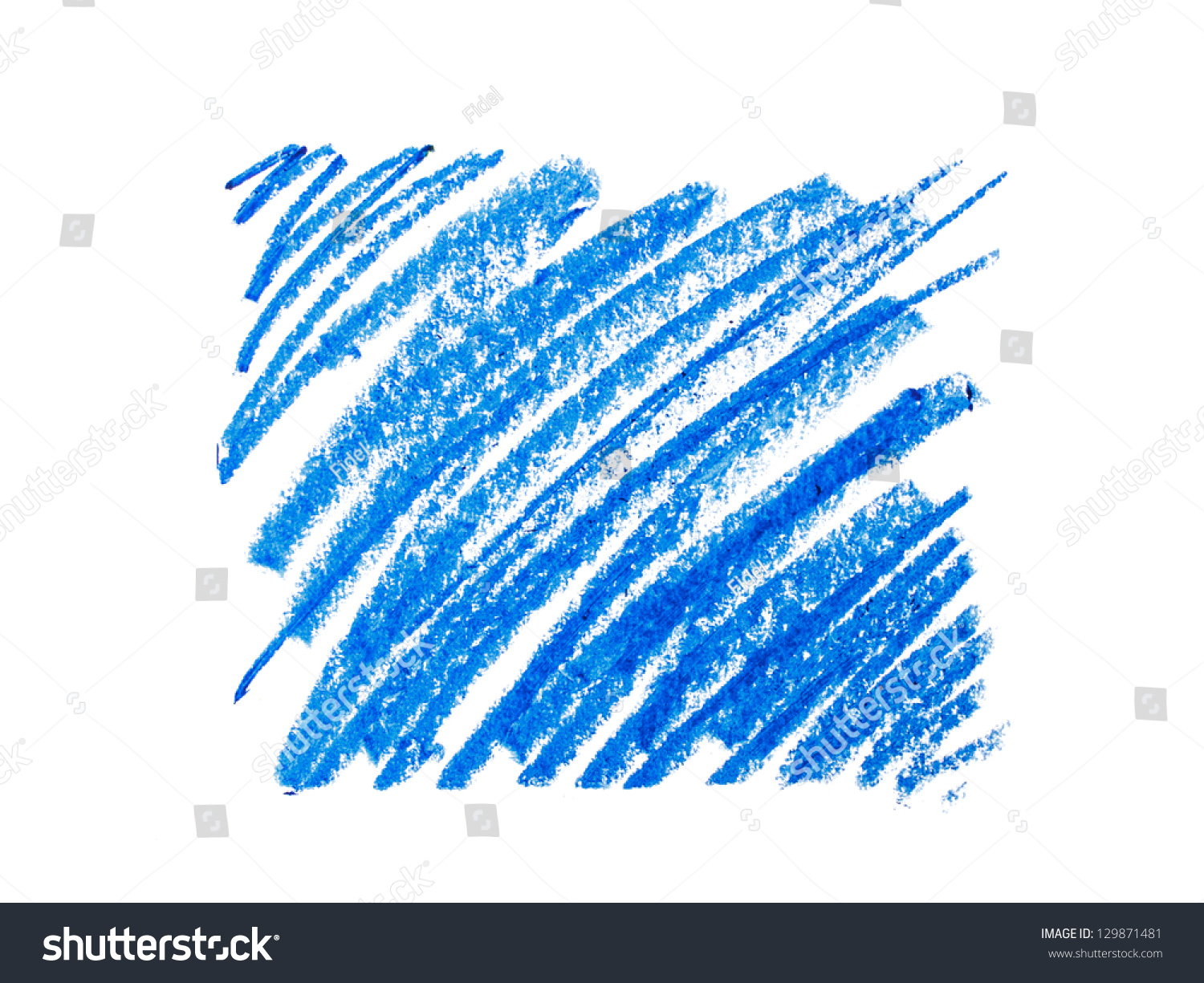 Color Wax Pencils Background Stock Photo Shutterstock