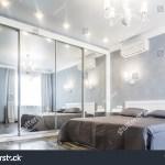 Contemporary Bedroom Design Luxurious Apartment Hardwood