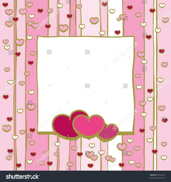Frame With Hearts, Jpeg Stock Photo 2969132 : Shutterstock
