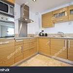 Fully Fitted Modern Kitchen Birch Wood Objects Interiors
