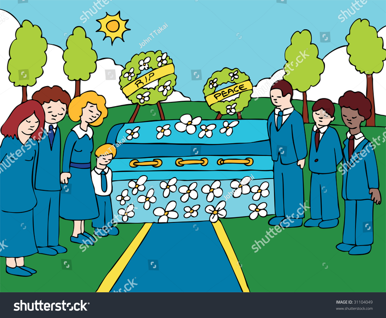 Funeral Clip Art Free