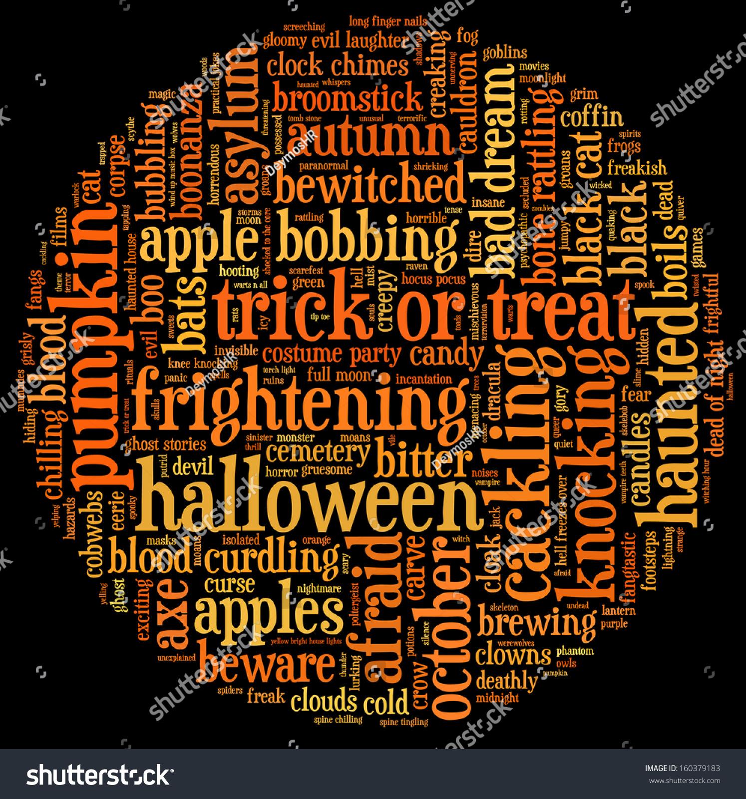 Halloween Related Words