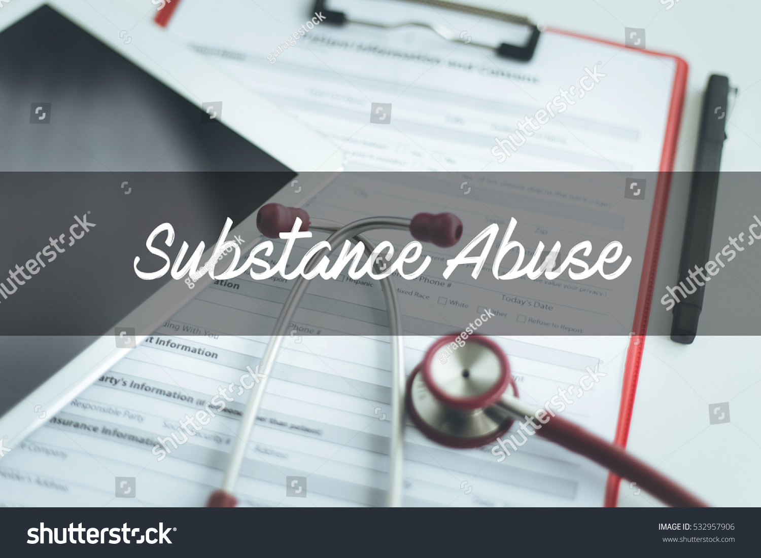 Health Concept Substance Abuse Stock Photo 532957906 - Shutterstock