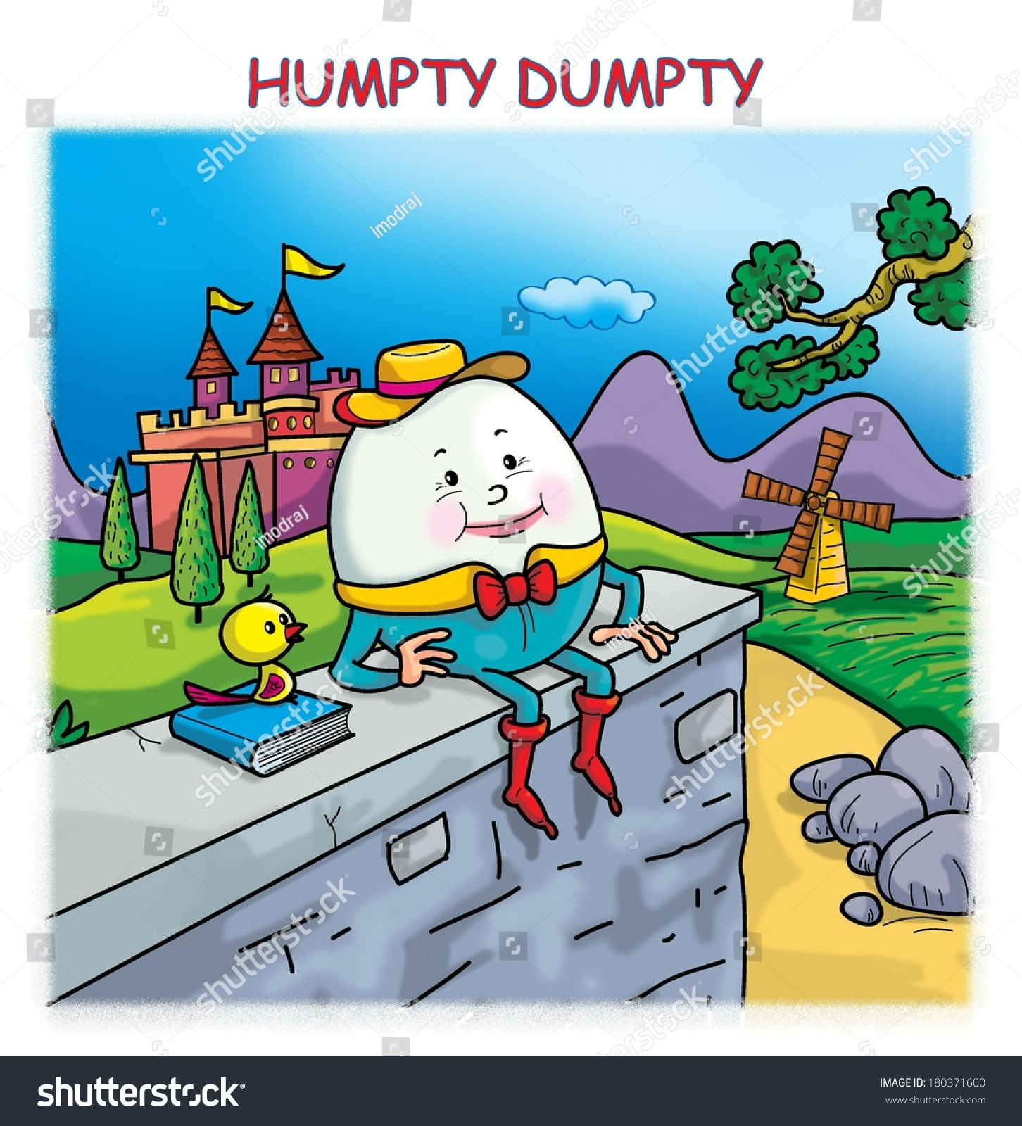 Humpty Dumpty Stock Photo Shutterstock
