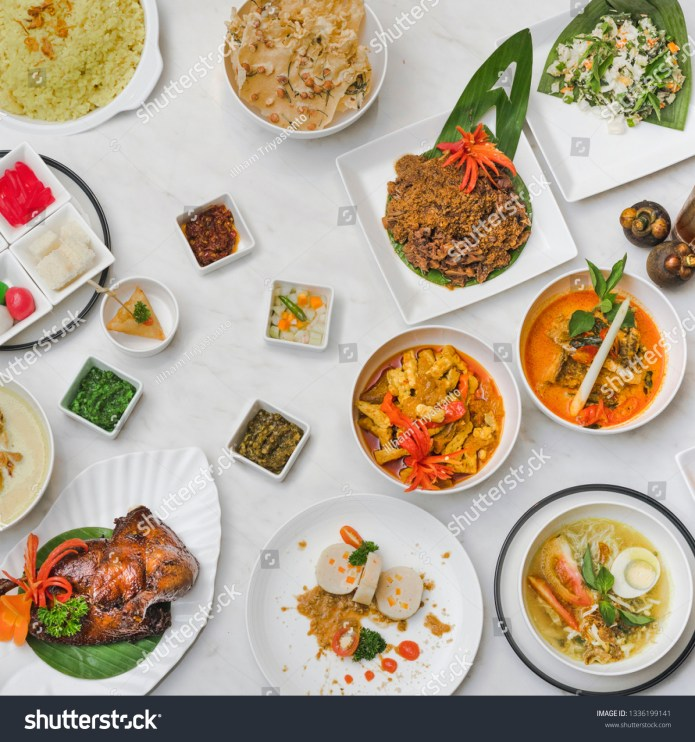 Indonesian Traditional Food Stock Photo Edit Now 1336199141