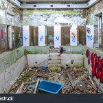 Interior Abandoned Baldone Sanatorium Building Founded Stock Photo Edit Now 1070638877