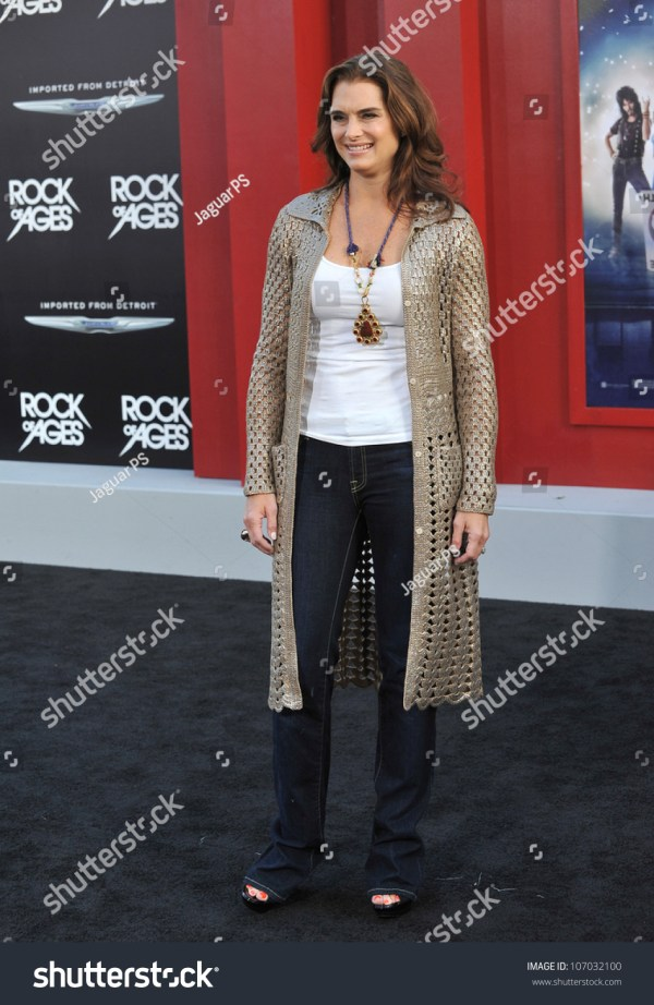 Los Angeles, Ca - June 9, 2012: Brooke Shields At The ...