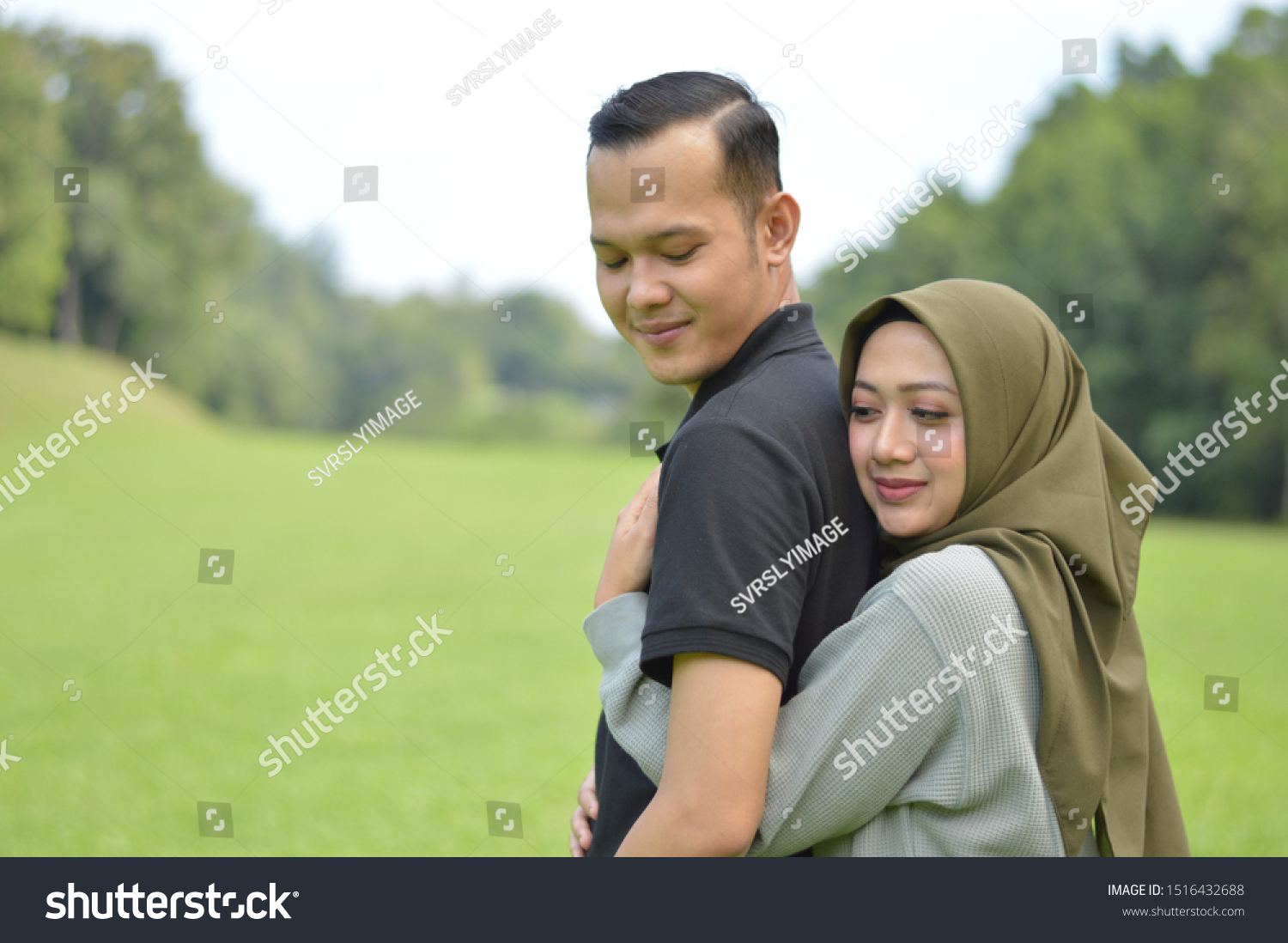 3000+ vectors, stock photos & psd files. Lovely Asian Muslim Young Couple Embracing Stock Photo Edit Now 1516432688
