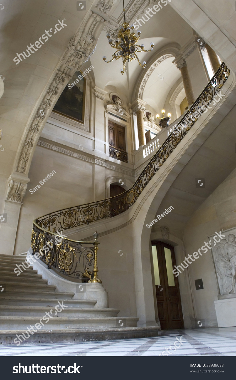 Interior Staircase Luxury Home