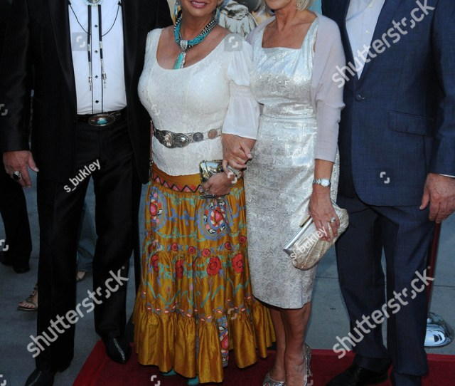 Madam Susan Austin Helen Mirren And Taylor Hackford At The Love Ranch Los