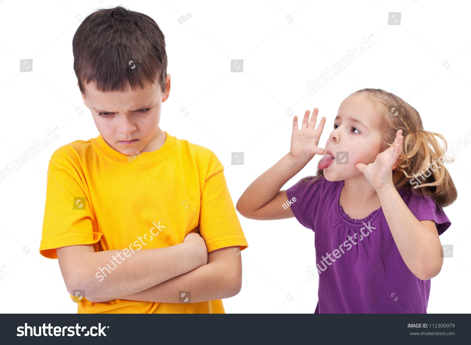Image result for happy girl and upset boy