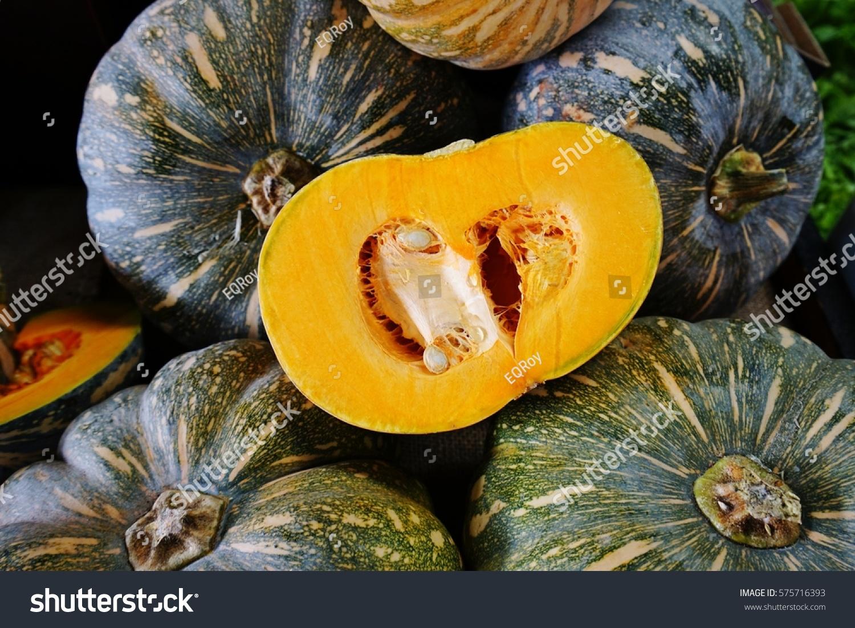 Orange Kabocha Squash Farmers Market Stock Photo 575716393 - Shutterstock