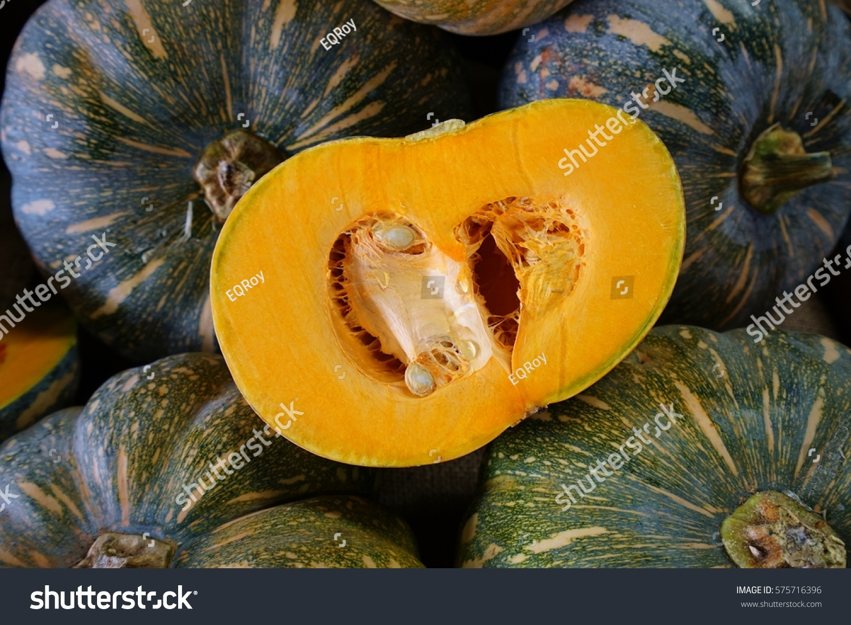 Orange Kabocha Squash Farmers Market Stock Photo 575716396 - Shutterstock